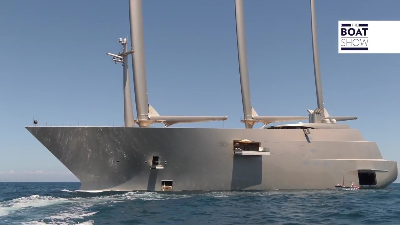 A Largest Sailing Superyacht In The World Spotted In Capri The Boat Show