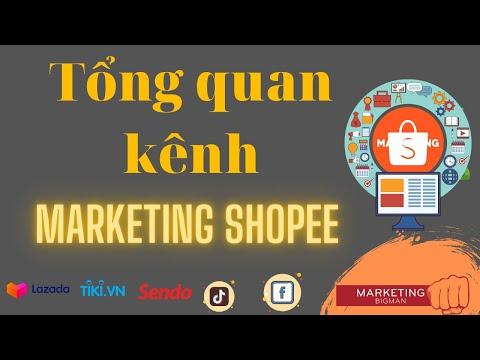 Tổng quan kênh marketing của shopee