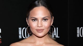 Chrissy Teigen Suffers Nip Slip at Super Bowl and Her Reaction is Everything!