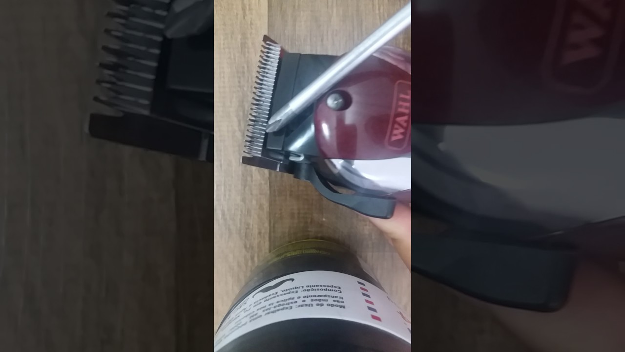 Como Regular Maquina De Cortar Cabelo Wahl Magic Clipe Icon