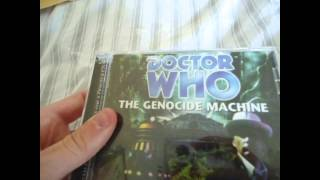 Doctor Who The Genocide Machine Big Finish unboxing