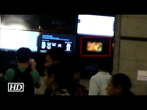 Girl fighting with men in Delhi Metro from YouTube · Duration:  1 minutes 23 seconds