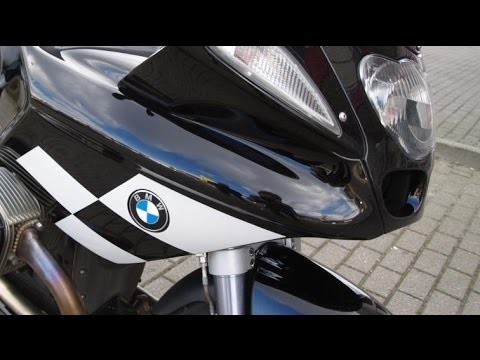 BMW R1100S Boxercup Motor Sticker Installation Video