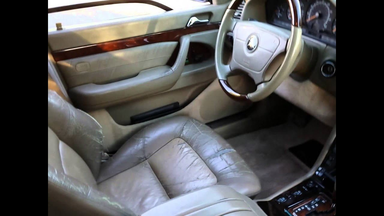 Rare 1999 Mercedes Benz S600 V12 W140. - YouTube Mercedes Benz S V Youtuve on