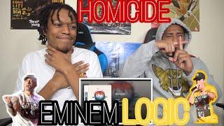 OMG!🔥 DEATH PENALTY NEEDED! Logic - Homicide Ft. Eminem | REACTION