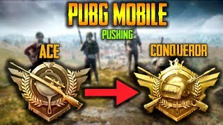 ACE to CONQUEROR pushing | PUBG MOBILE INDIA
