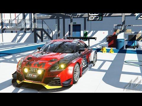 Assetto Corsa-Ready to Race Pack: Audi TT RS (VLN) @ Nürburgring GP |