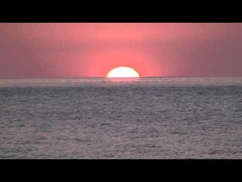 Sunset on the Tyrrhenian Sea at Campora San Giovanni