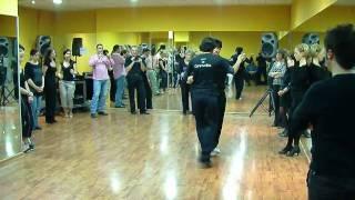 Curso de Milonga con Traspie. 16-18 Abril 2010