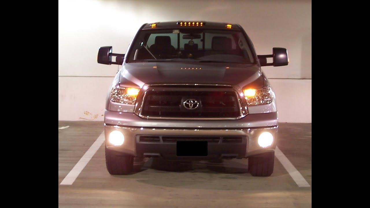 Installing Cab Lights on my 2011 Toyota Tundra - YouTube