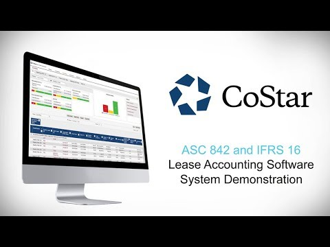 CoStar Enterprise Lease Accounting Software Demo For ASC 842 & IFRS 16