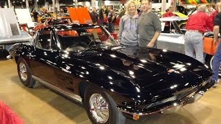 1964 Chevrolet Chevy Corvette Fuel Injection with Daytona Blue Paint My Car Story with Lou Costabile