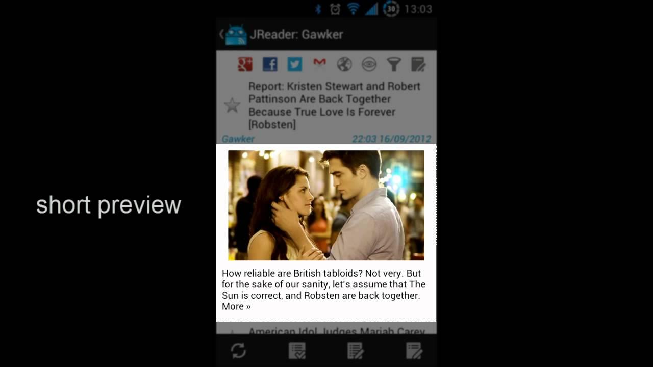 JReader: best Google Reader app for Android