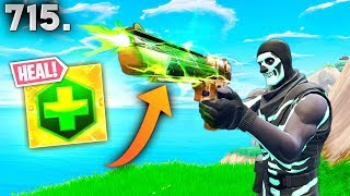 *NEW* HEALING DEAGLE?! - Fortnite Funny WTF Fails and Daily Best Moments Ep.715