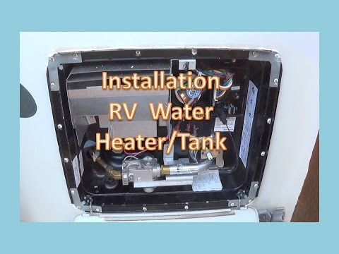 Removal and Installation of RV Water Heater GC6AA-10E on
