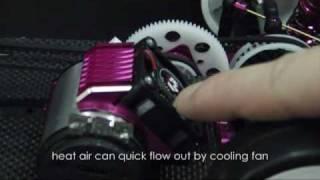 3racing new motor heatsink 3rac mhs009