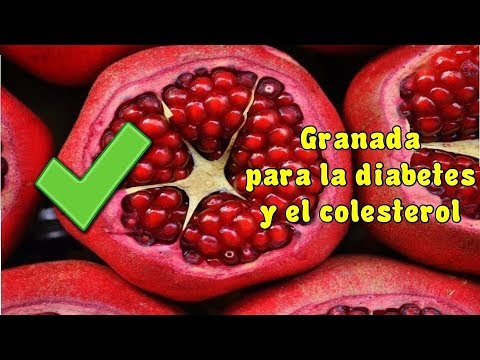 🍇 Remedios Caseros Para Bajar El Azúcar, Colesterol Y Trigliceridos | GRANADA