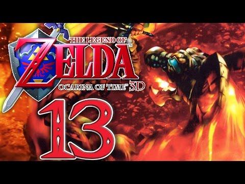 BOSS: HAMMER VS. VOLVAGIA! :D Zelda Ocarina of Time 3D Part 13 [Deutsch/3DS]