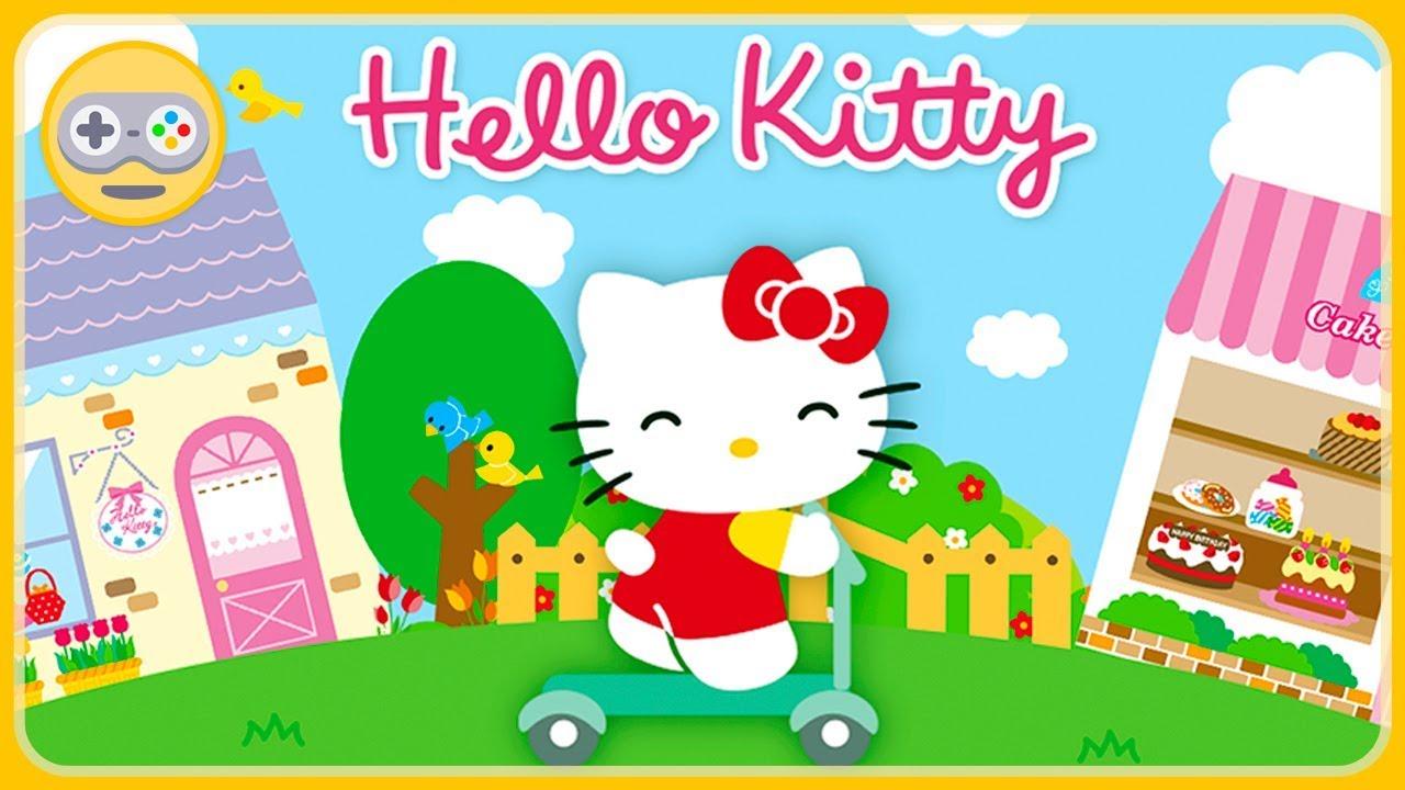 Хелло Китти игры для детей * Город Hello Kitty - YouTube