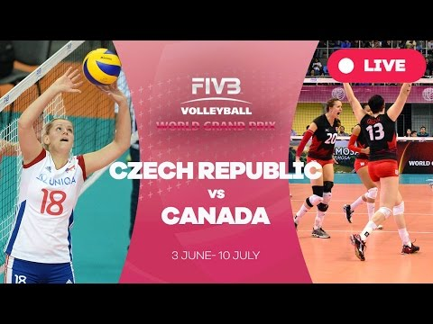 Czech Republic v Canada - Group 2: 2016 FIVB Volleyball World Grand Prixix