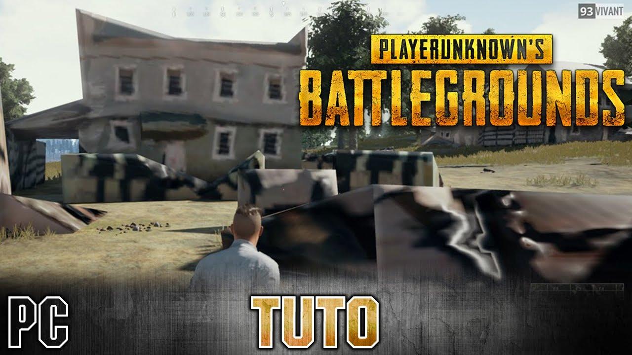PUBG - Tuto [FR] TEXTURE BUG HOUSE maison FIX