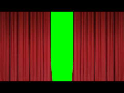 Theater (Stage) Curtains Open/Close - FreeHDGreenscreen Footage