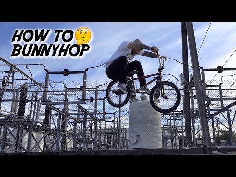 HOW TO BUNNYHOP ON A BMX!