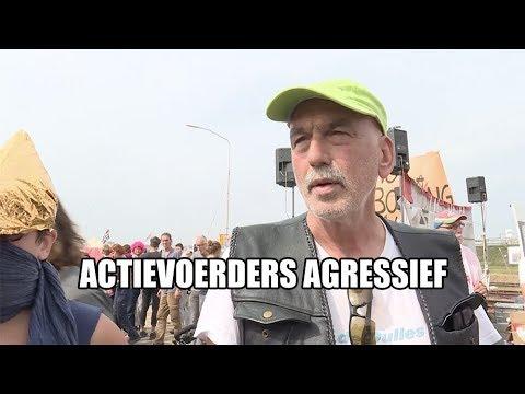 Actievoerders agressief