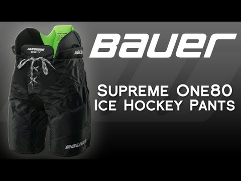 acab60004d3 Bauer Supreme One80 Ice Hockey Pants - YouTube