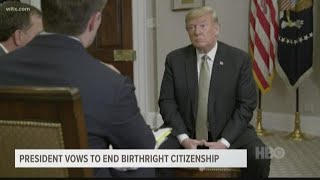 President Trump plans to end birthright citizenship with executive order