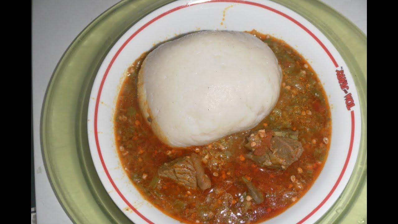 How to make Okro Stew/Soup - YouTube