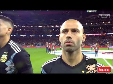 Spain vs Argentina National Anthem