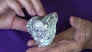 Glynda Yoder displays ANCHI Crystal: Enfoldment in Light