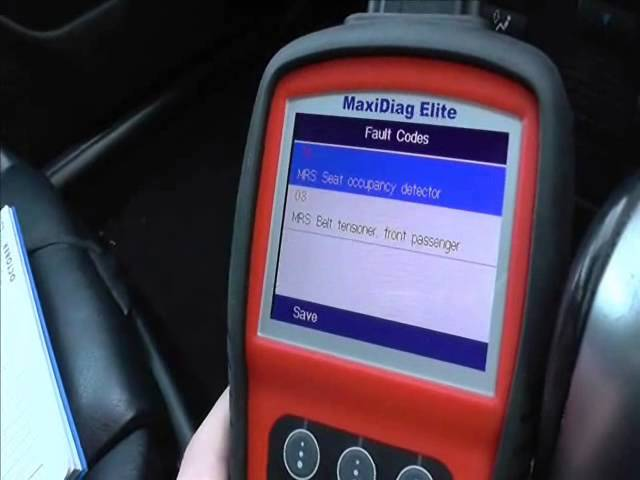 Chevrolet Airbag Light Mot Fail How To Fix Youtube