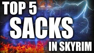 Skyrim - Top 5 Sacks