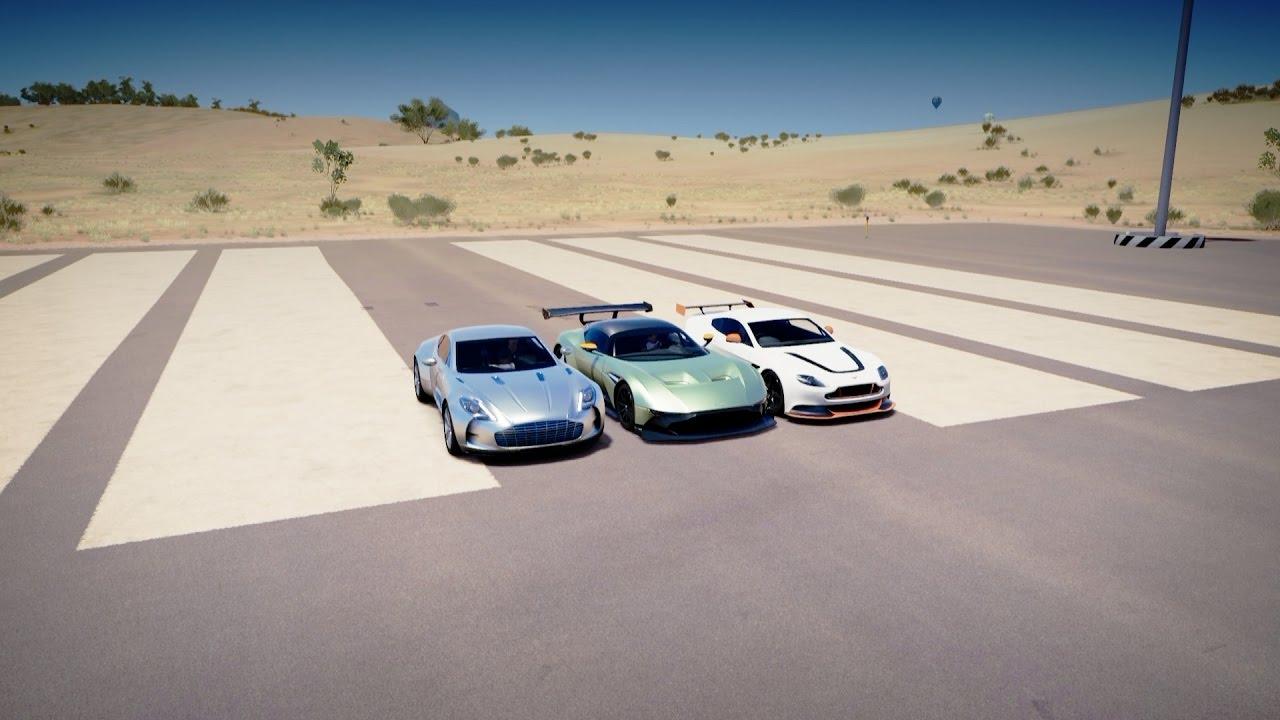 Forza Horizon 3 Aston Martin Vulcan Vs One 77 Vs Vantage