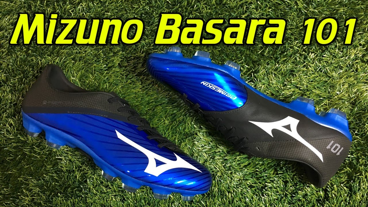 separation shoes 9734b d5a49 Mizuno Basara 101 Direct Blue Black - Review + On Feet - YouTube