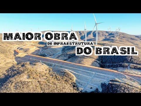MAIOR OBRA DE INFRAESTRUTURA DO BRASIL