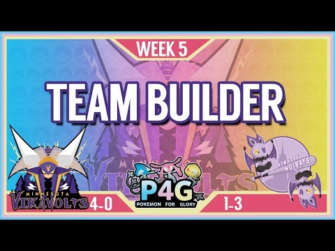 Minnesota Vikavolts Team Building P4G S2 Week 5: VS New York Noibats   Pokemon Sun and Moon
