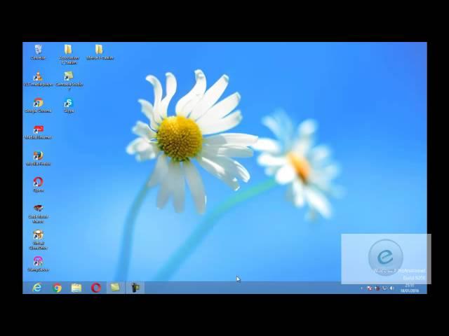 Windows 8 : Leçon 1 :  التعرف على  الويندوز 8