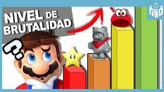 ESCALA de PODER de los OBJETOS de Super Mario | N Deluxe