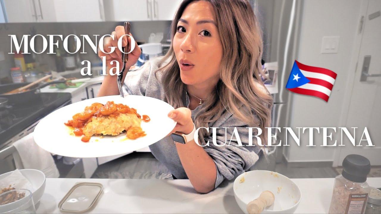 China Boricua Cocinando Mofongo!! // Un dia conmigo en Cuarentena con los MUNCHIES!