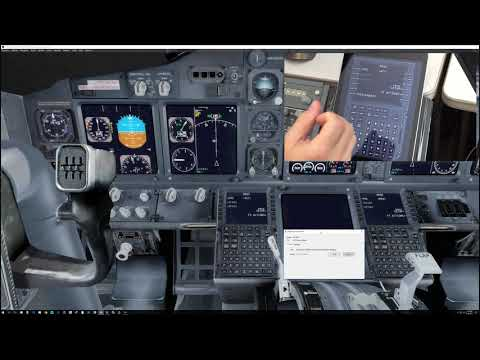 Virtual Avionics 777, 737, 747 CDU for P3D V4 - 4K