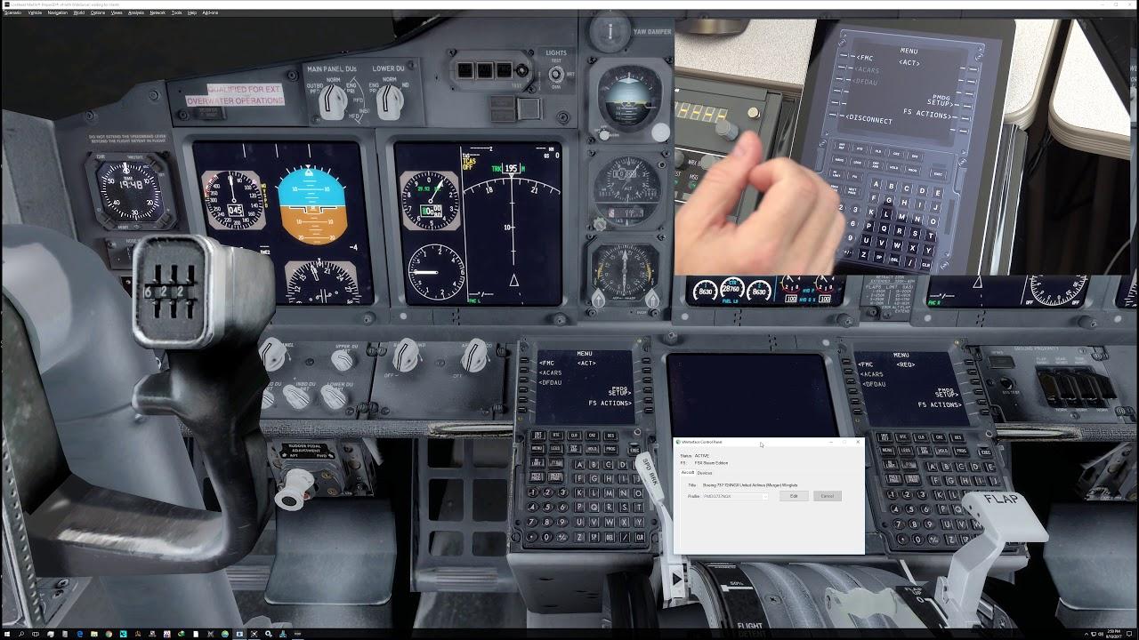 Virtual Avionics 777, 737, 747 CDU for P3D V4 - 4K