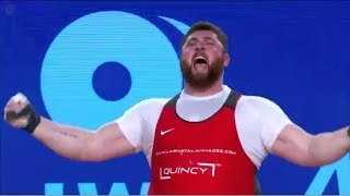 Lazha Talakhadze (+105kg) WORLD RECORD 477kg TOTAL / 2017 WEIGHTLIFTING WORLD CHAMPIONSHIPS