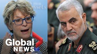 "Un Expert Deems Us Drone Strike That Killed Iranian General Soleimani ""unlawful"""