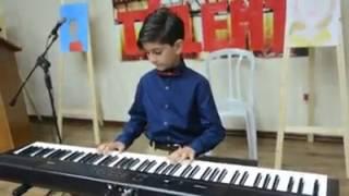 قصه حب, عزف جمال مرينه love story , piano
