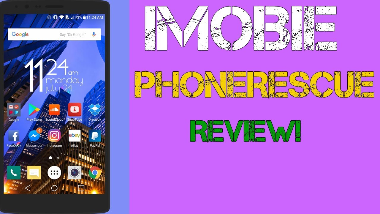 How to Recover Lost/Deleted Data on Any Android/iphone - imobie Phone  Rescue Review!