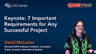 Keynote: 7 Important Requirements for Any Successful Project - Code Quality & Performance Virtual Conference