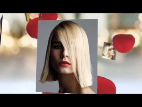 Модные стрижки - каре для блондинок